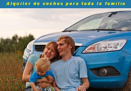 Alquiler de coches para familia