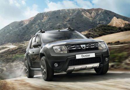 Alquiler de coches Rumanía ofrece Dacia Duster 4x4 para paseos en las montañas